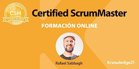 Certified ScrumMaster - CSM® + Scrum Práctico + Coaching Ágil + Cultura bilhetes
