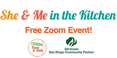 "FREE Girl Scouts ""She & Me"" Cooking Class  