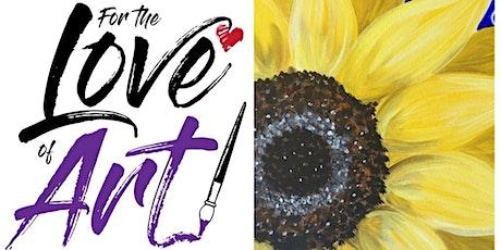 Virtual Paint Class: Giant Sunflower tickets