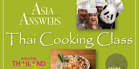 FREE Pad Thai Online Cooking Class ingressos