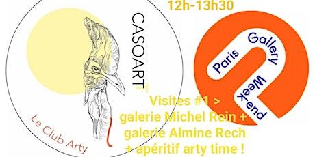 LES ARTY TIME #1 / VISITES  + apéritif parcours galeries d'art billets