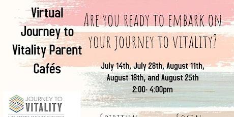 Virtual Vitality Parent Café tickets