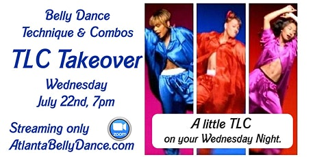 """Belly Dance Technique & Combos """"TLC Takeover"""" tickets"""