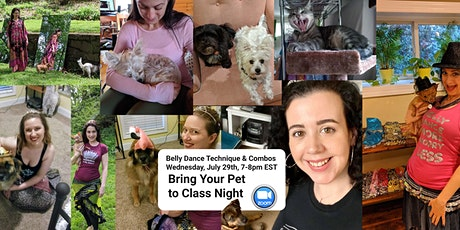 """Belly Dance Technique & Combos """"Bring your Pet to Dance"""" tickets"""