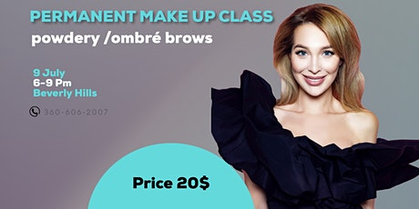 Permanent Make Up powdery ombre brows tickets