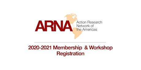 ARNA 2020-2021 Membership & Workshop Registration (Global North)