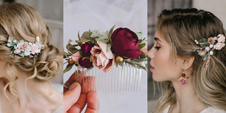 Floral Hair Comb Workshop tickets