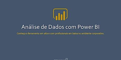 Análise de dados com Power BI ingressos