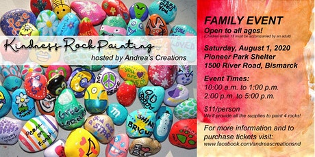 Kindness Rock Painting tickets