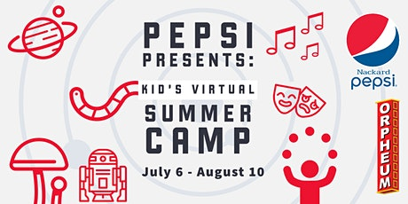 Pepsi presents: Kids Virtual Summer Camp tickets