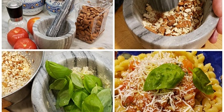 Let's Make Trapani Style Pesto and Talk about Western Sicily tickets