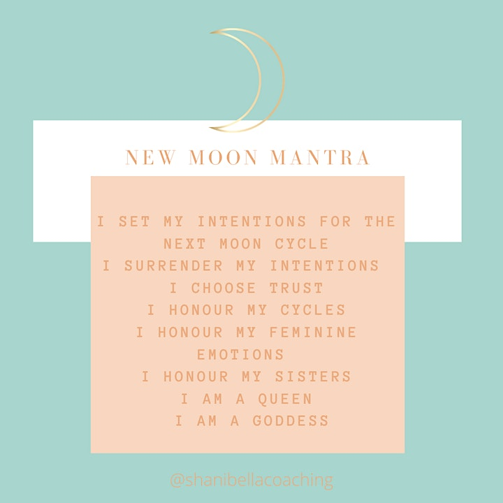 New Moon Women's Circle- A Gathering of Hearts image