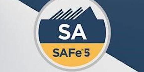 Leading SAFe -  Scaled Agile Framework 5.0 tickets