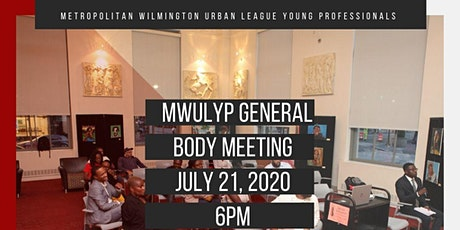 July General Body Meeting tickets