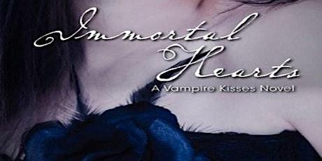 Y/A author Ellen Schreiber describes Vampire Kisses virtually tickets