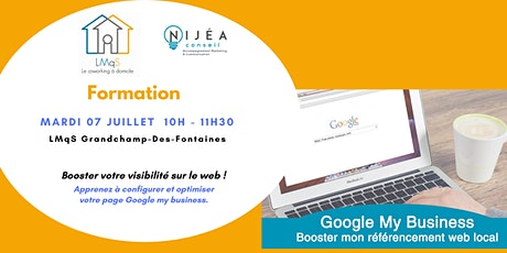 ATELIER Google My Business : Booster mon référencement web local tickets