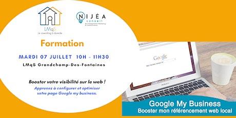 ATELIER Google My Business : Booster mon référencement web local billets