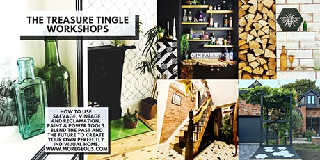 Treasure Tingle Workshop: Sustainable Salvage To Create A Unique Home tickets