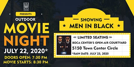 Open Air Movie Night at Boca Center tickets