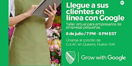 Taller Virtual para Empresarios/Emprendedores tickets