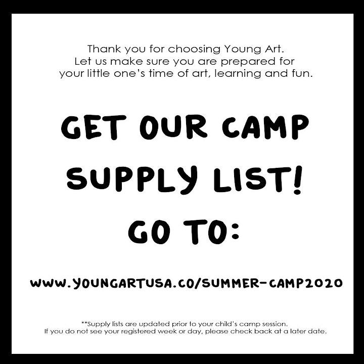 Single Day Virtual Summer Camp (Grade K-2) Afternoon image