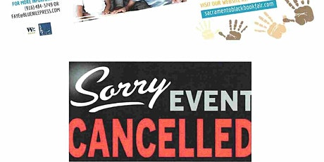 Due to covid-19, the Sacramento Black Book Fair for 2020 has been canceled. tickets