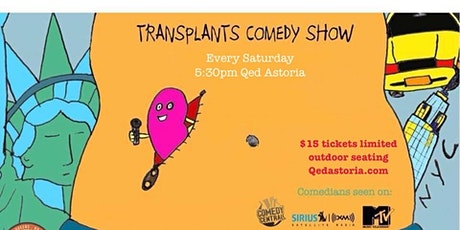 Transplants Comedy - Live, In Person, Outdoor Show! tickets
