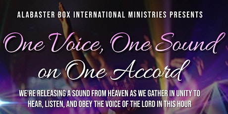 ONE VOICE, ONE SOUND ON ONE ACCORD tickets