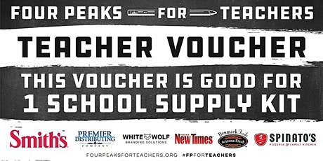 Four Peaks for Teachers Teacher Kit Pick-Ups - Las Vegas (Teacher EXCHANGE) tickets