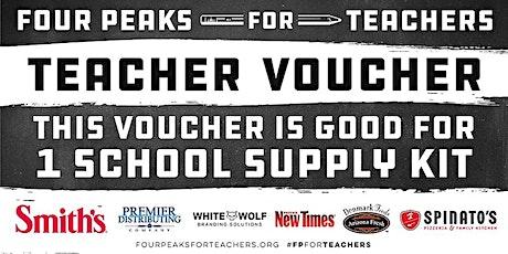 Four Peaks for Teachers Teacher Kit Pick-Ups  tickets