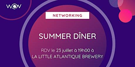 Dîner networking July tickets