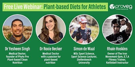 Plant-based Diets for Athletes tickets