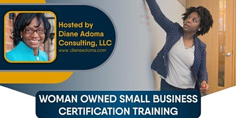 Women Owned Small Business Certification Training tickets