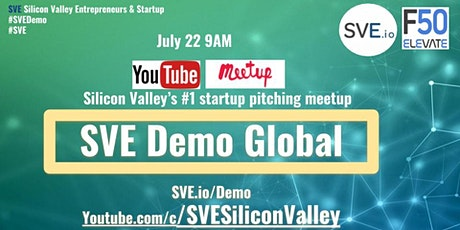 SVE Startup Pitching Demo  July - HealthTech #SVEDemo tickets