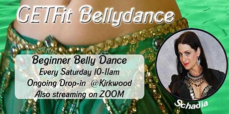 Copy of GetFIT Belly Dance - Streaming & In Studio tickets