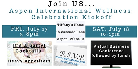 Aspen International Celebration Kick Off tickets