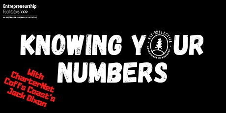 Knowing Your Numbers tickets
