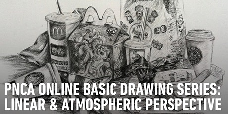 CE Online Workshops Basic Drawing Series:  Linear & Atmospheric Perspective tickets