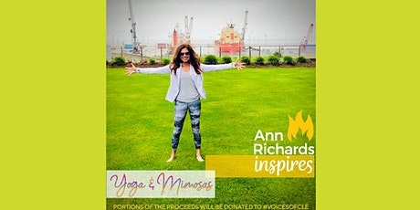 Yoga and Mimosas with Ann Richards tickets