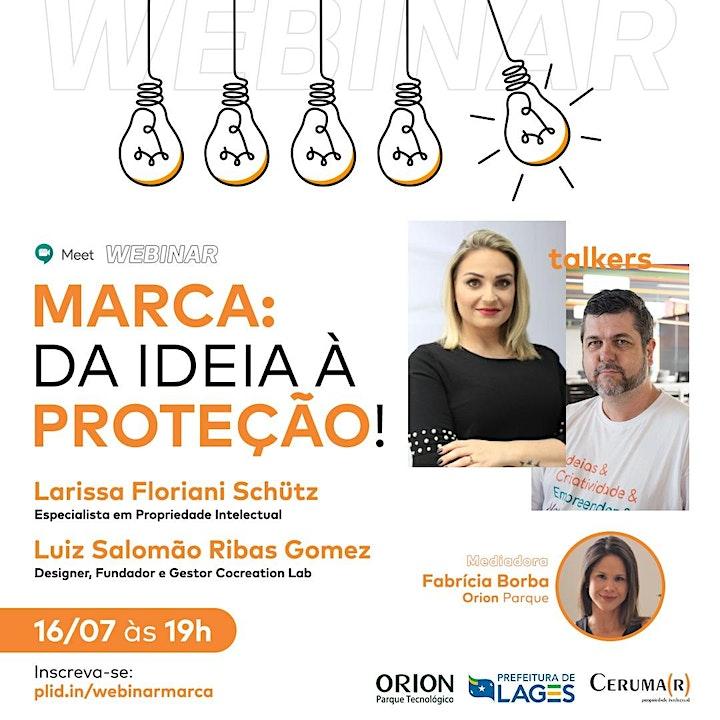 Imagem do evento Marca: da ideia à proteção!