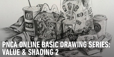 CE Online Workshops Basic Drawing Series:  Value & Shading Part 2 tickets