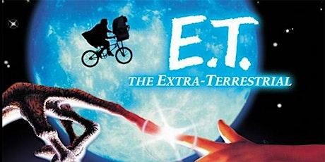 Outdoor Summer Family Film Night, Sunday Night film E.T Extra Terrestrial tickets