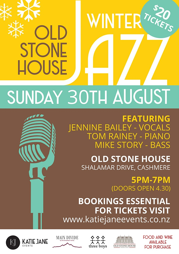August Winter Jazz at the Old Stone House image