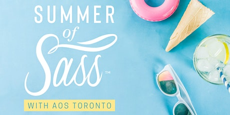 AOS Toronto : Summer of Sass (Wall Choreo Workshop with Rosa Campagna) tickets