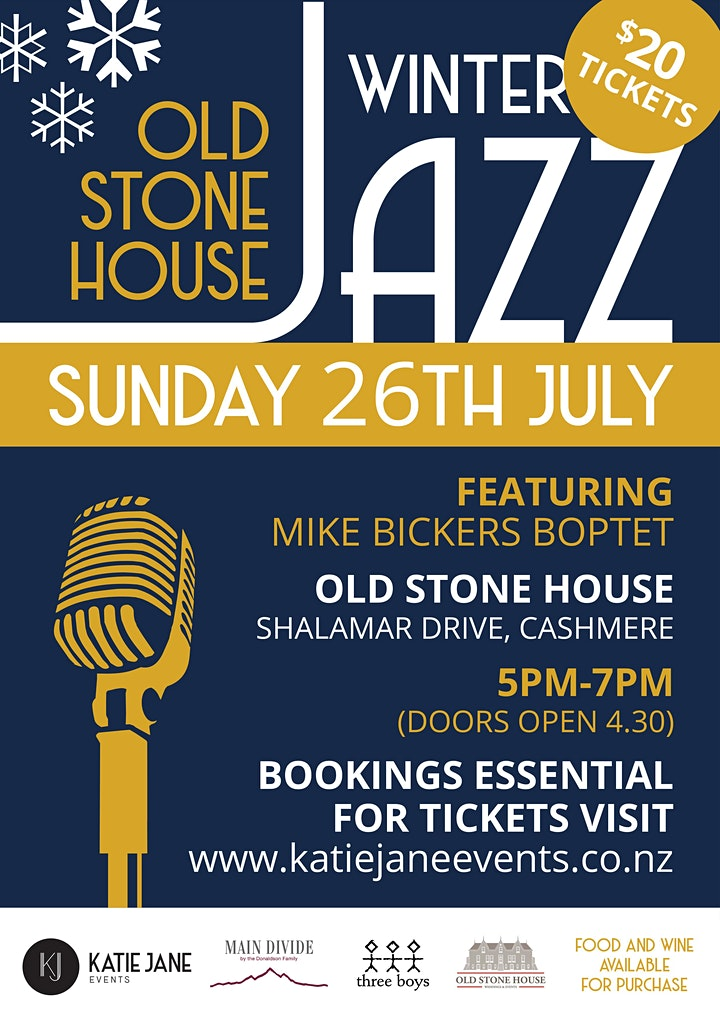 Winter Jazz at The Old Stone House image