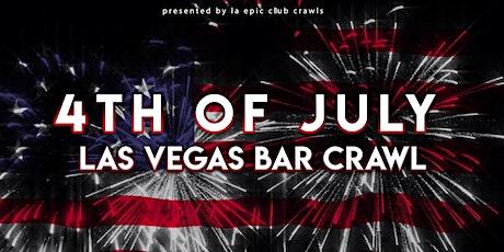 4th of July Weekend Las Vegas Club Crawl tickets