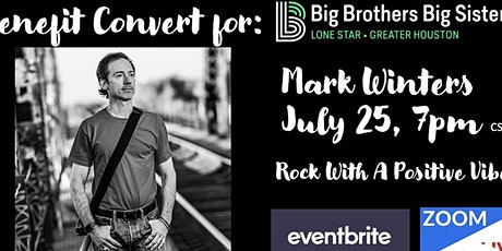 Mark Winters LiveStream Concert benefitting Big Brothers Big Sisters tickets