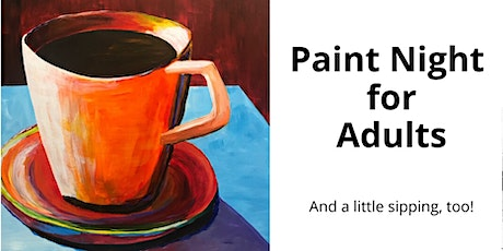 Paint Night-Relaxing Cuppa-no experience nec, really! tickets