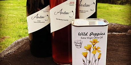 Anatum Wines and Wild Poppies Olive Oil Tasting tickets