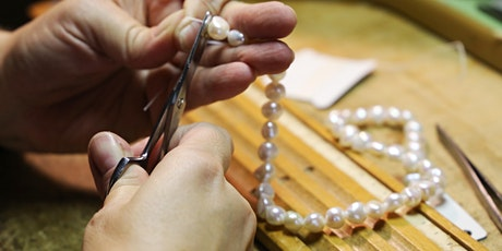 Pearl Stringing Workshop - Necklace w Clasp  |  Sunday 30 August 2020 tickets